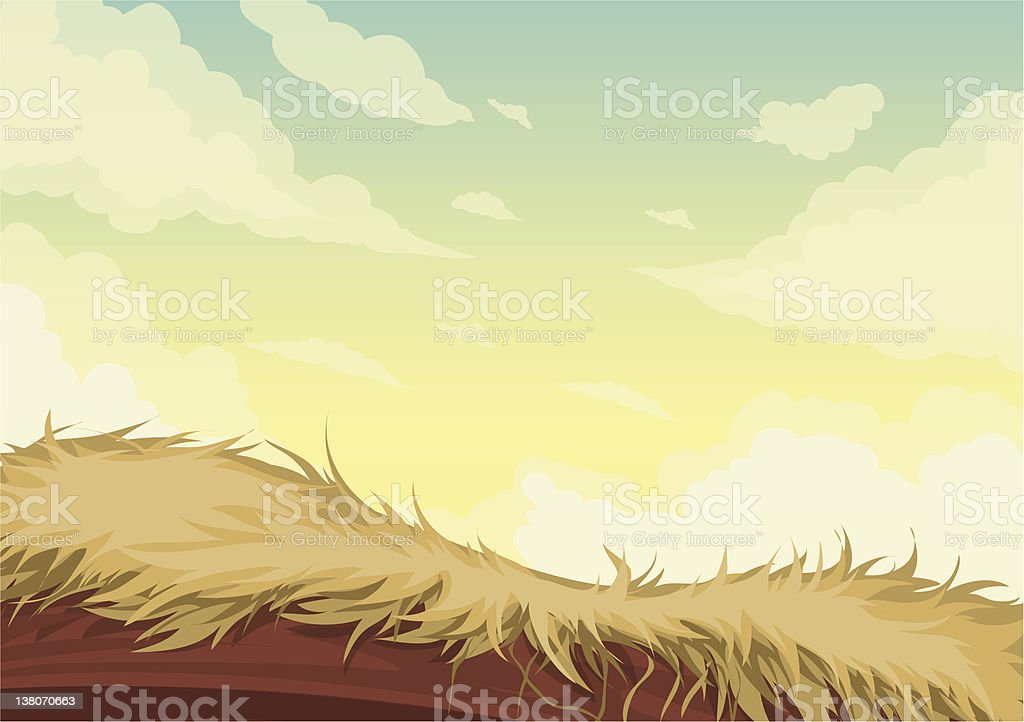 Beautiful Landscape Background royalty-free stock vector art