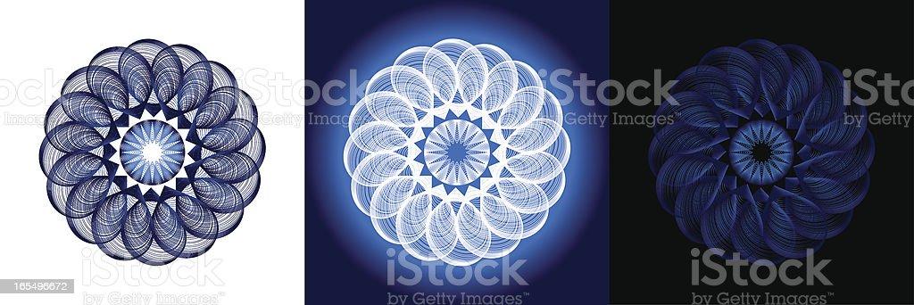Beautiful Needlework pattern royalty-free stock vector art