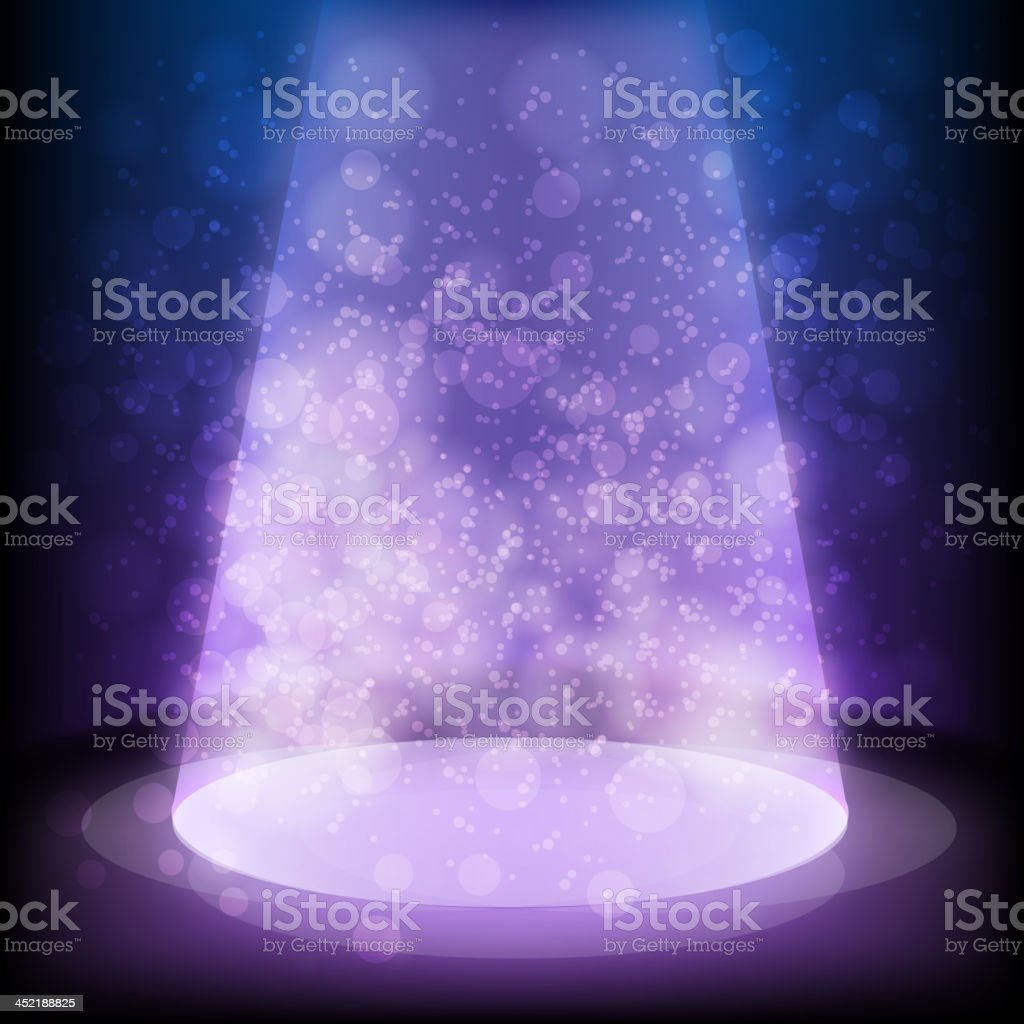 Beautiful Stage light royalty-free stock vector art