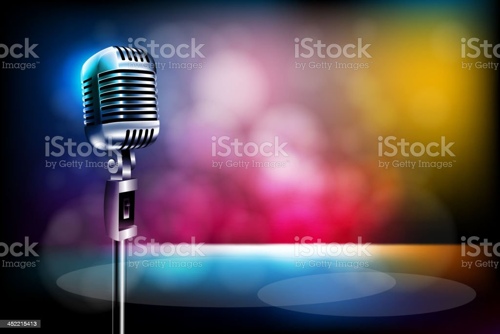 Beautiful Stage royalty-free stock vector art