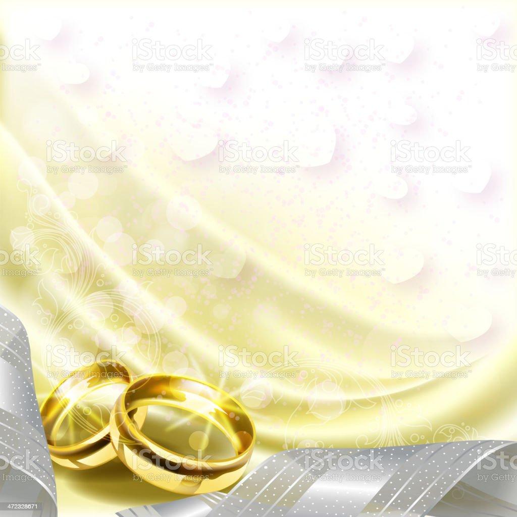 Beautiful Wedding BAckground royalty-free stock vector art