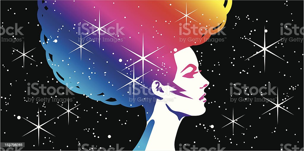 Beautiful Woman royalty-free stock vector art