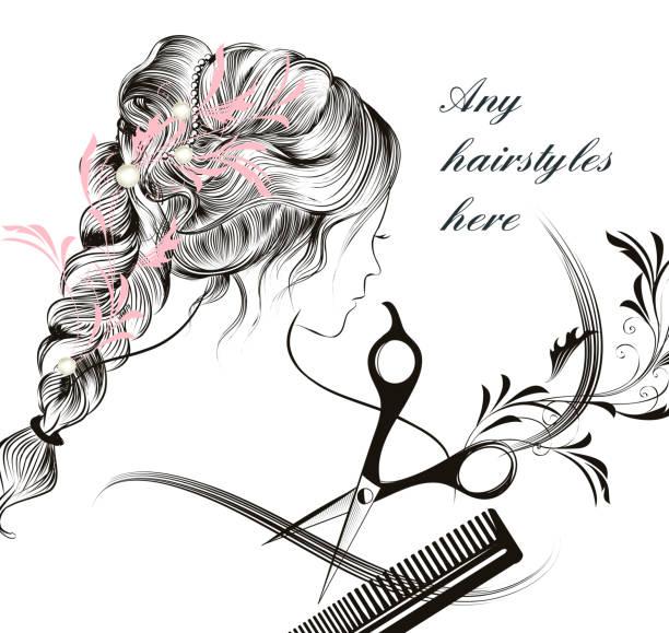 Background Of A Medical Symbol For Female Clip Art Vector Images