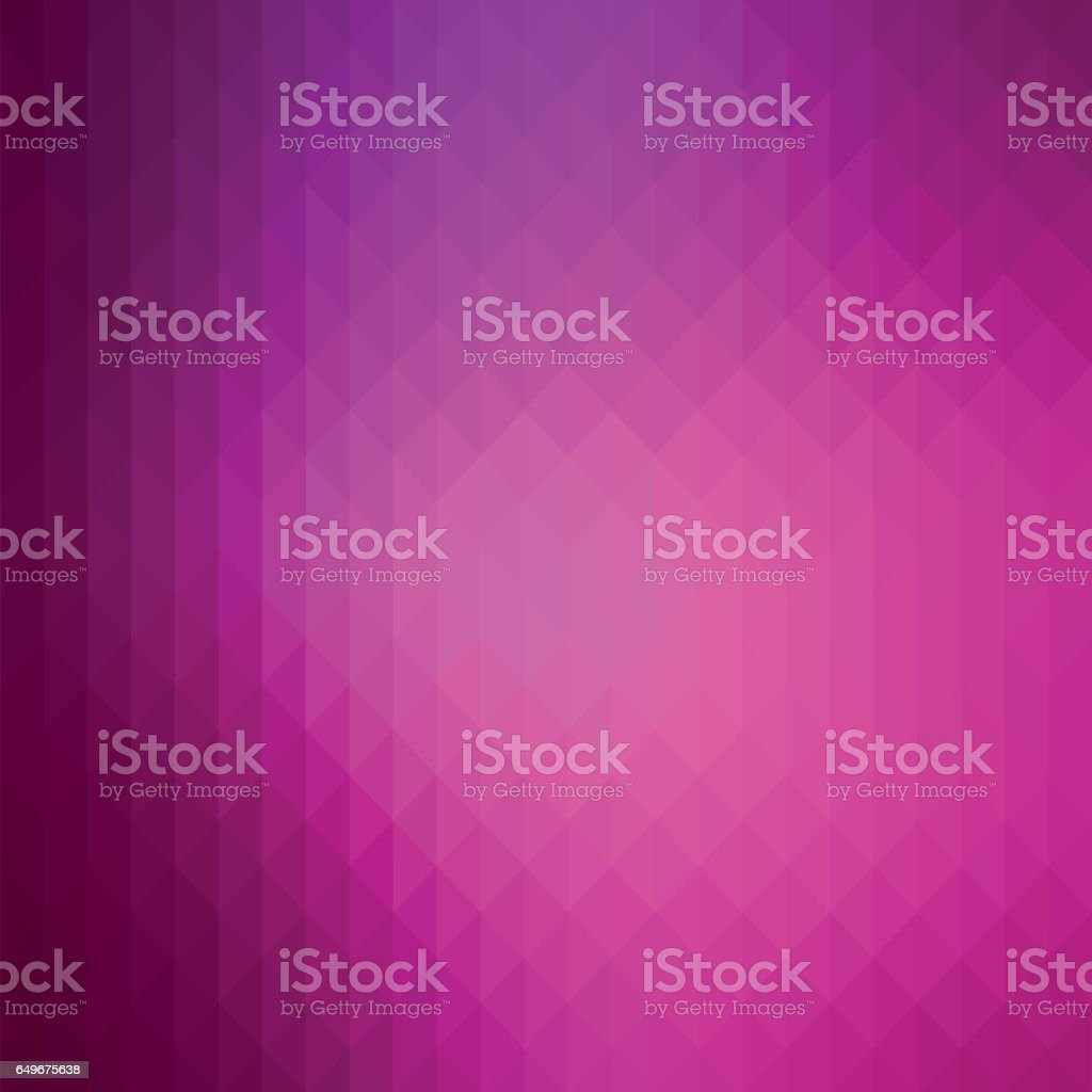 Beauty and fashion style, shiny geometric background with vibrant purple color tone. vector art illustration