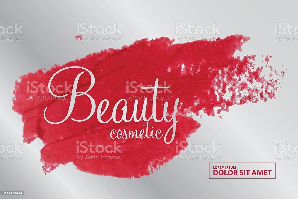 beauty cosmetics vector vector art illustration