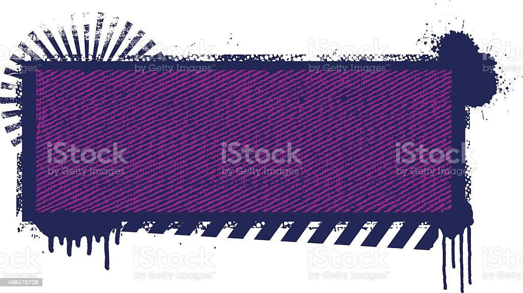 beauty grunge inky banner royalty-free stock vector art