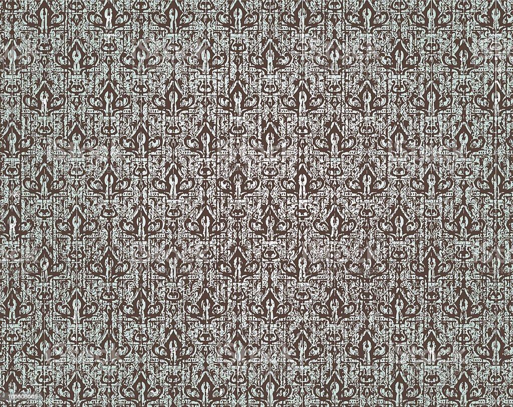 beauty grunge tribal pattern royalty-free stock vector art