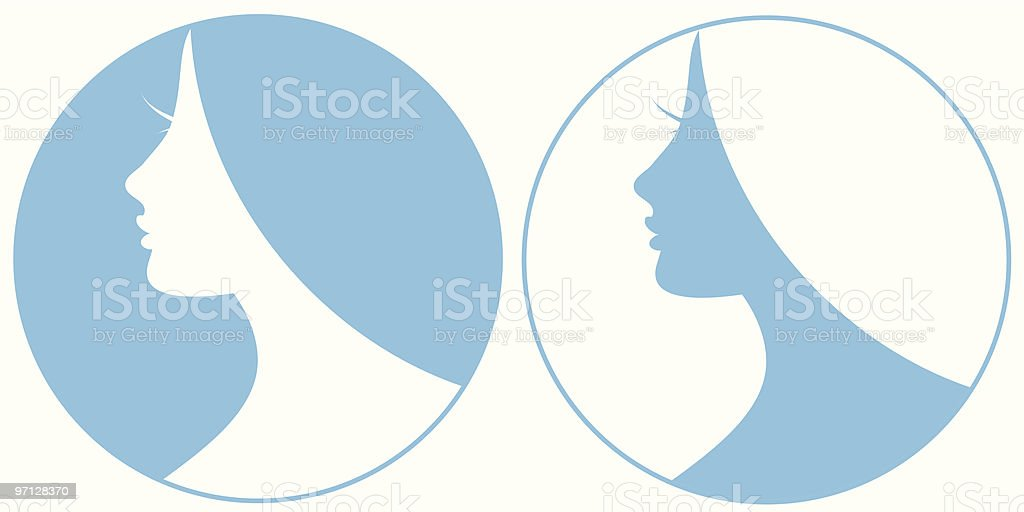 SPA beauty icons royalty-free stock vector art