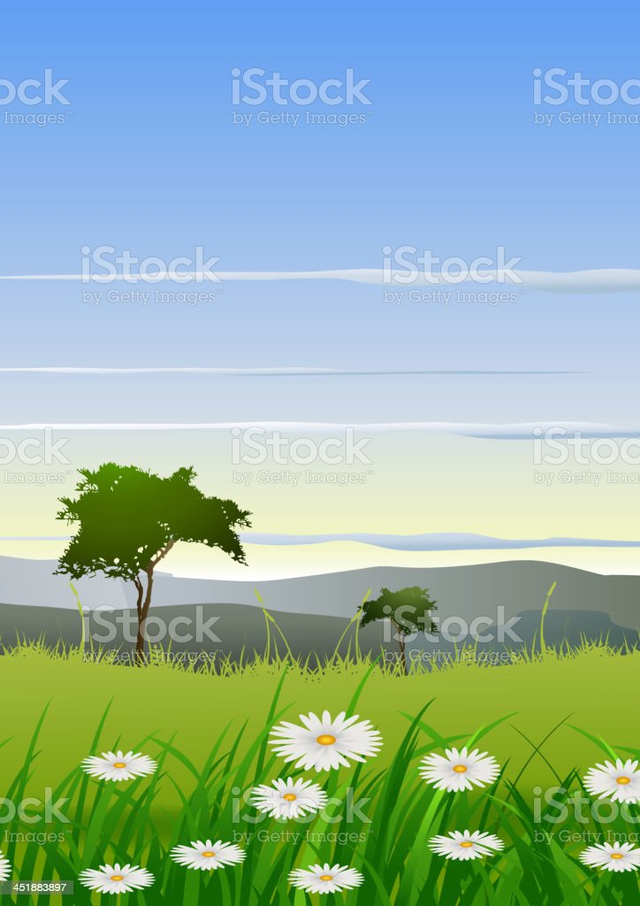 beauty nature background royalty-free stock vector art