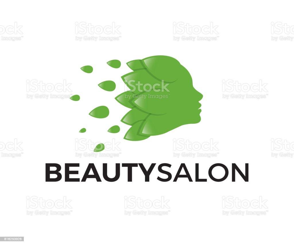 Beauty salon vector icon vector art illustration