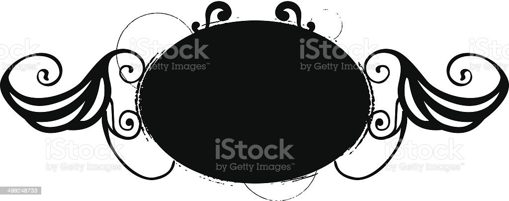 beauty vintage shield royalty-free stock vector art