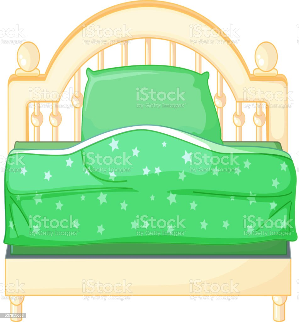 Bedroom royalty-free stock vector art