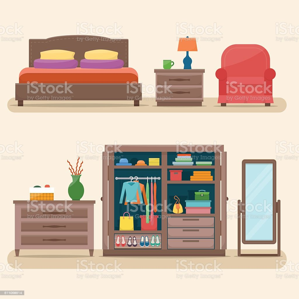 Dresser Clip Art, Vector Images & Illustrations