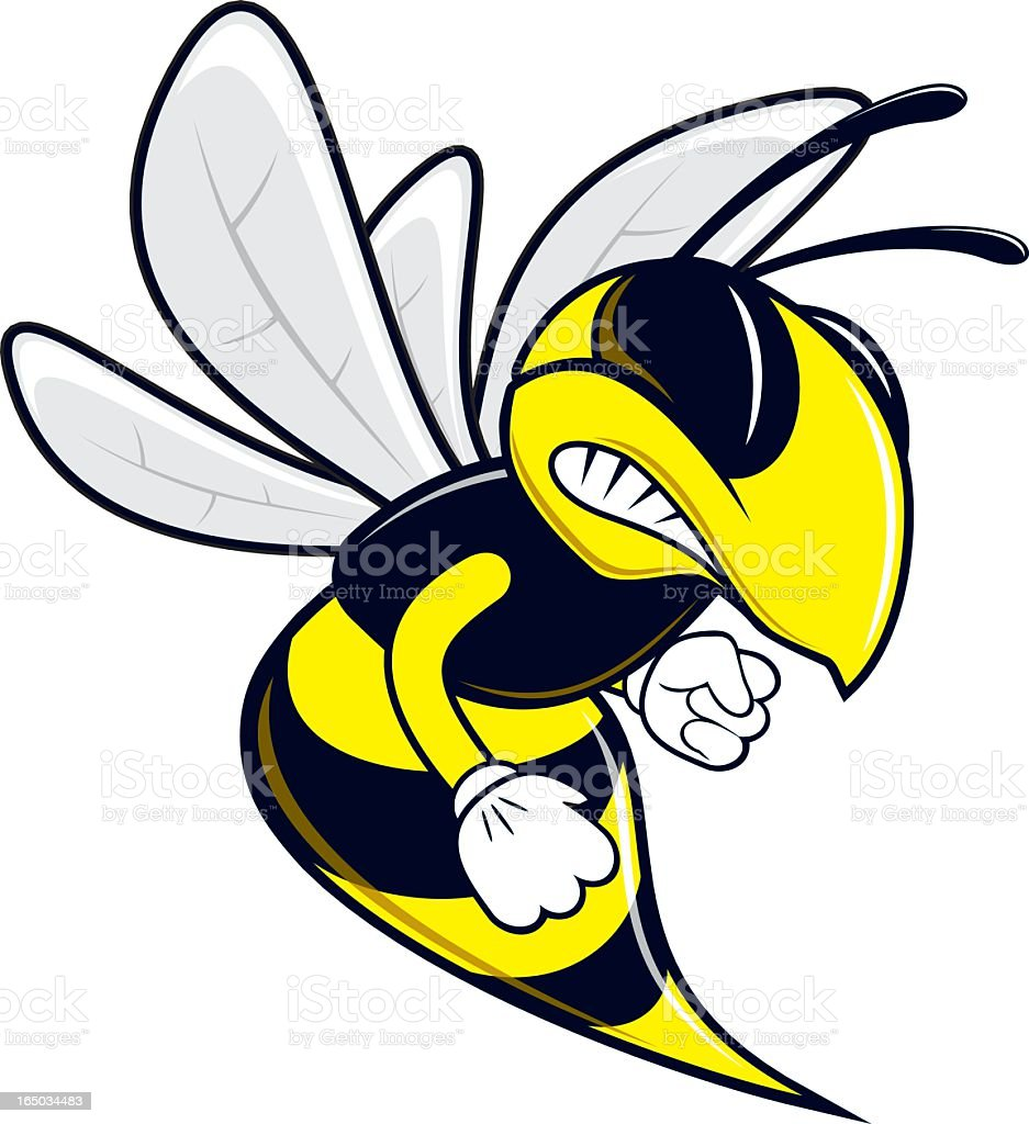 Bee vector art illustration