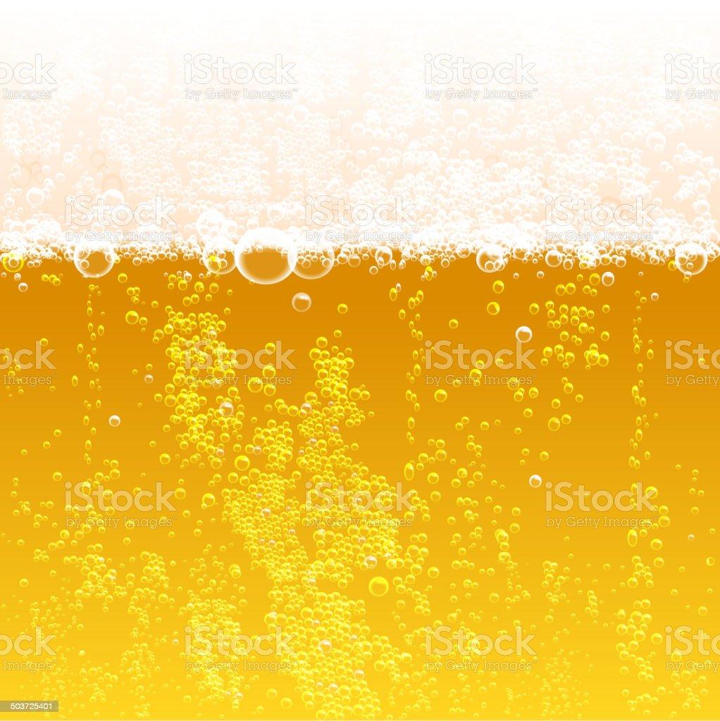 beer background vector art illustration