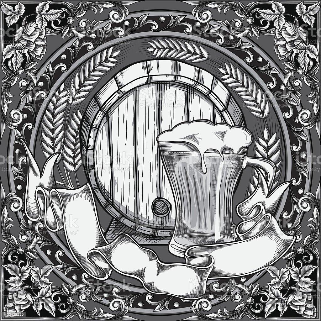 Beer design royalty-free stock vector art