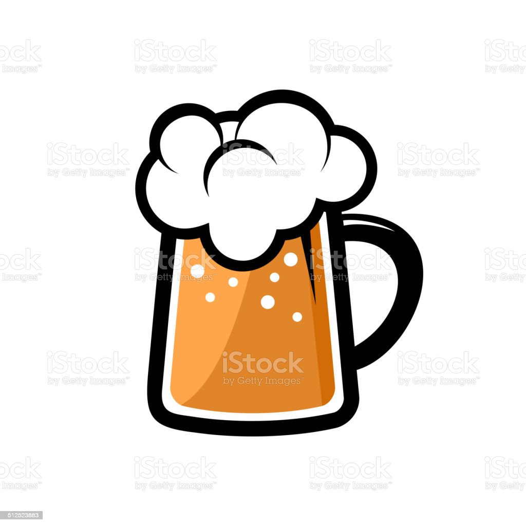 Beer Icon. Vector royalty-free stock vector art