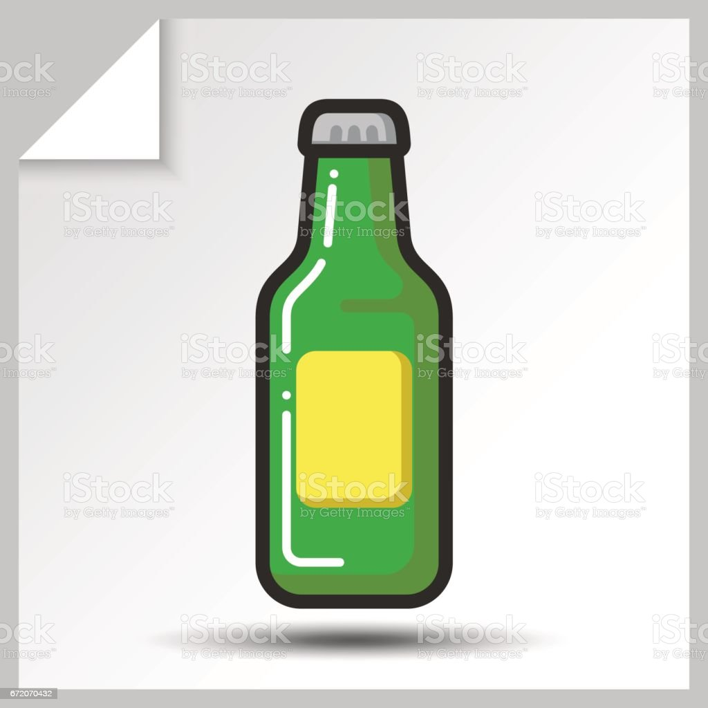 Beer icons_2 vector art illustration