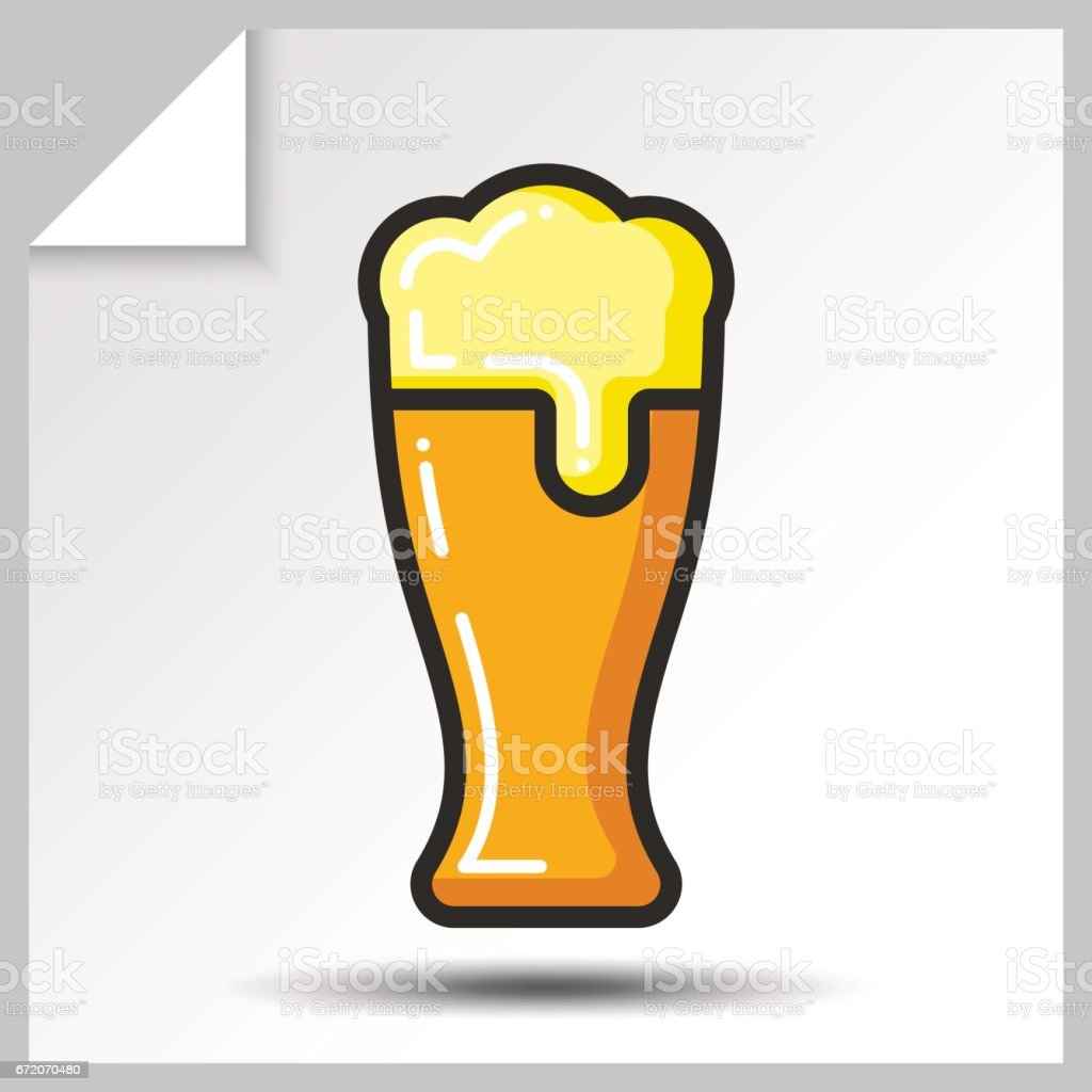 Beer icons_5 vector art illustration