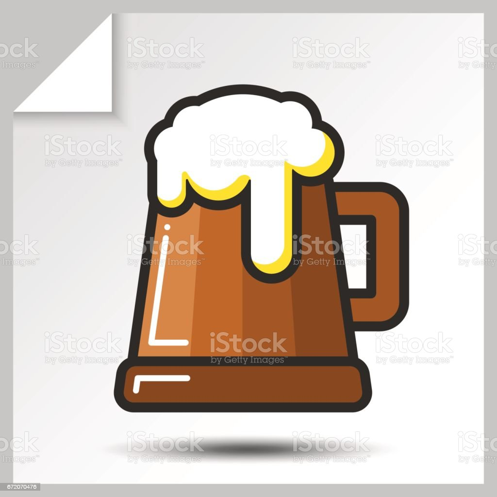 Beer icons_6 vector art illustration