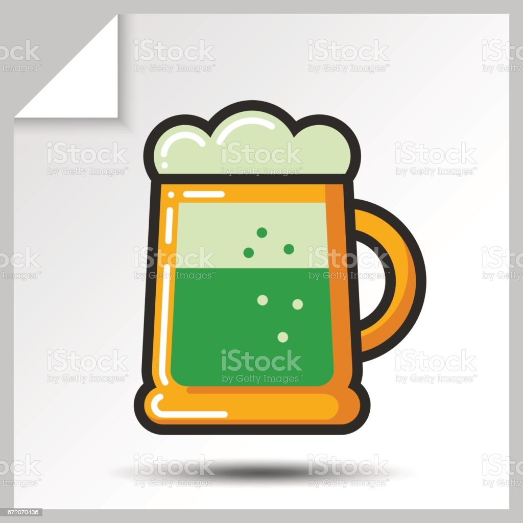 Beer icons_7 vector art illustration
