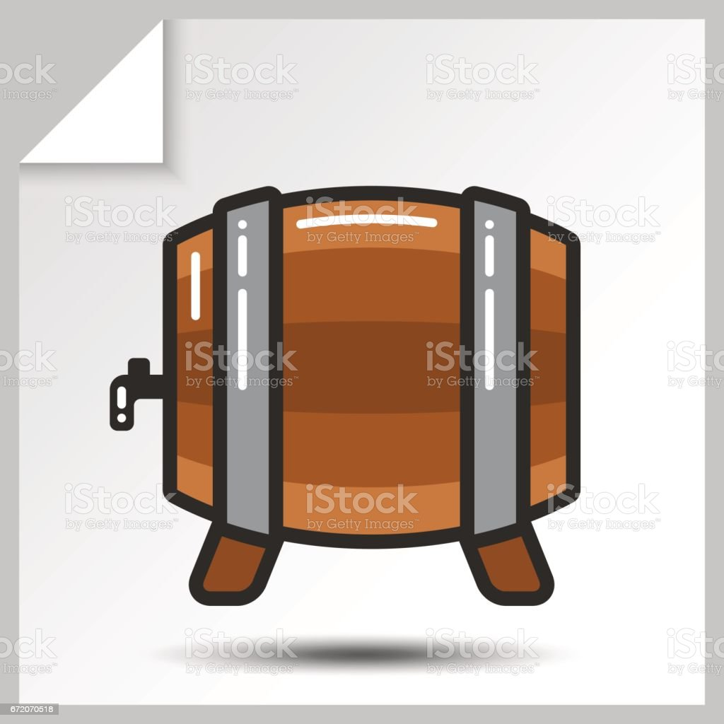 Beer icons_8 vector art illustration