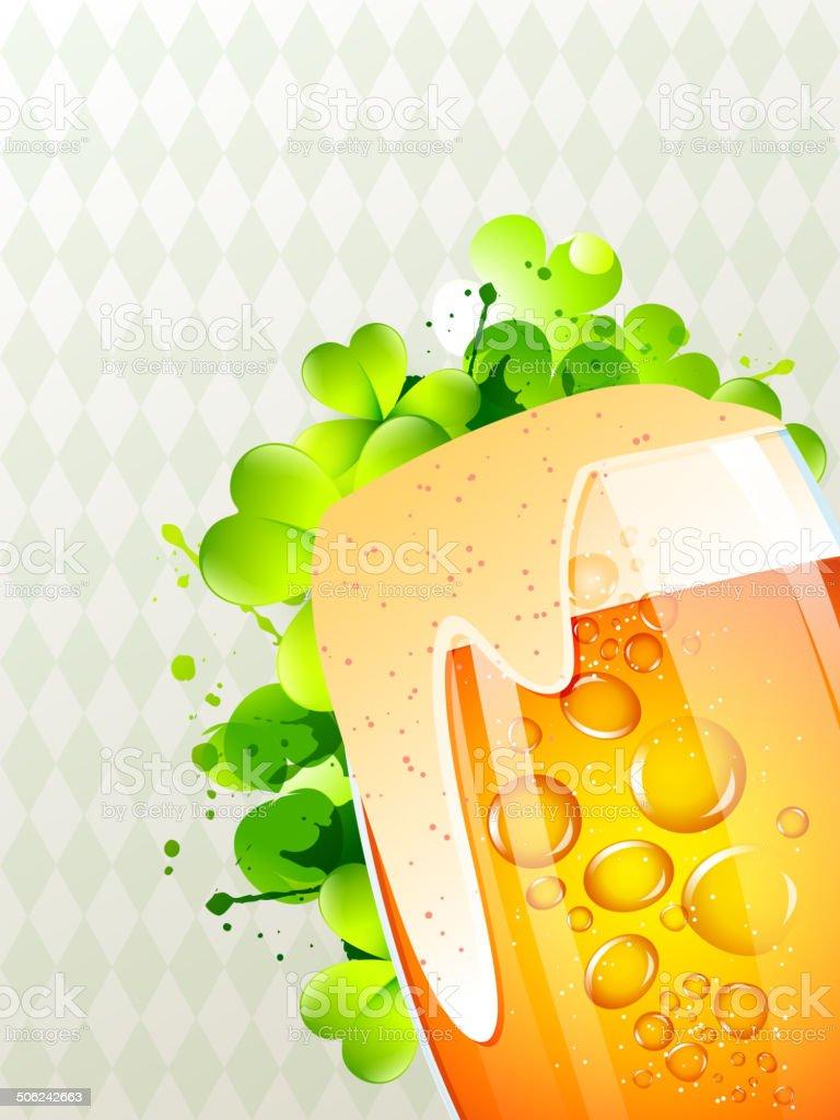 beer mug vector vector art illustration