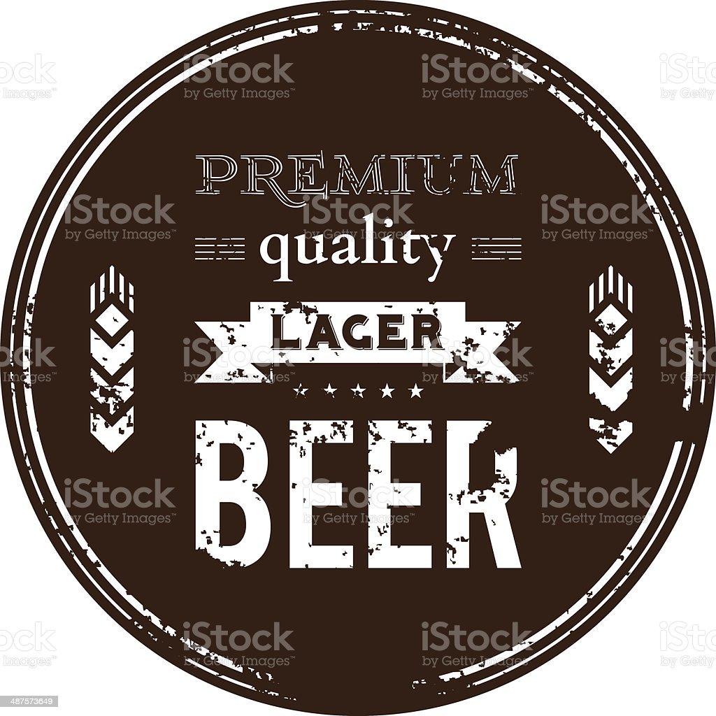 Beer ?oaster vector art illustration