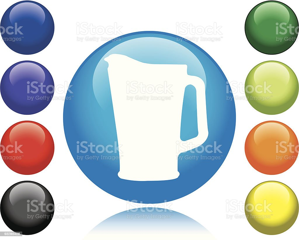 Beer Pitcher Icon royalty-free stock vector art