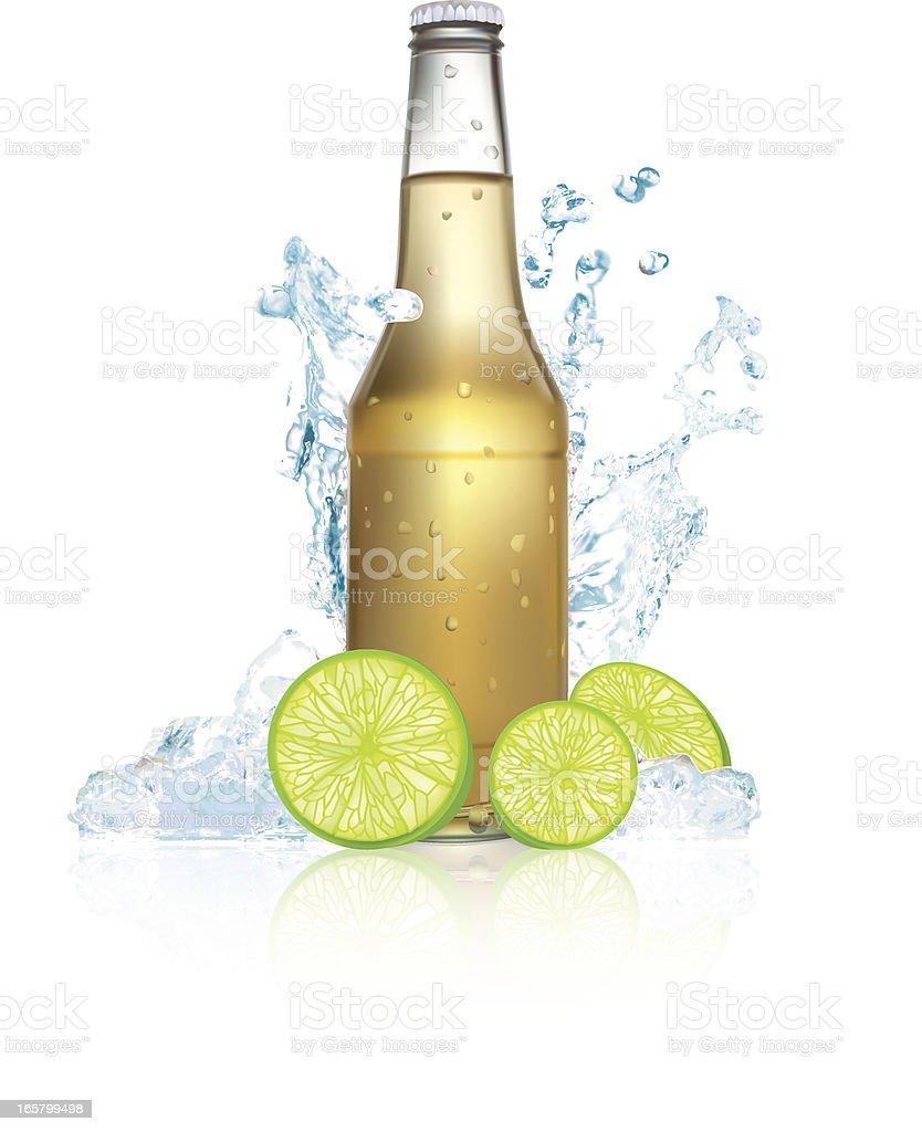 Beer Splash - Vector Illustration royalty-free stock vector art