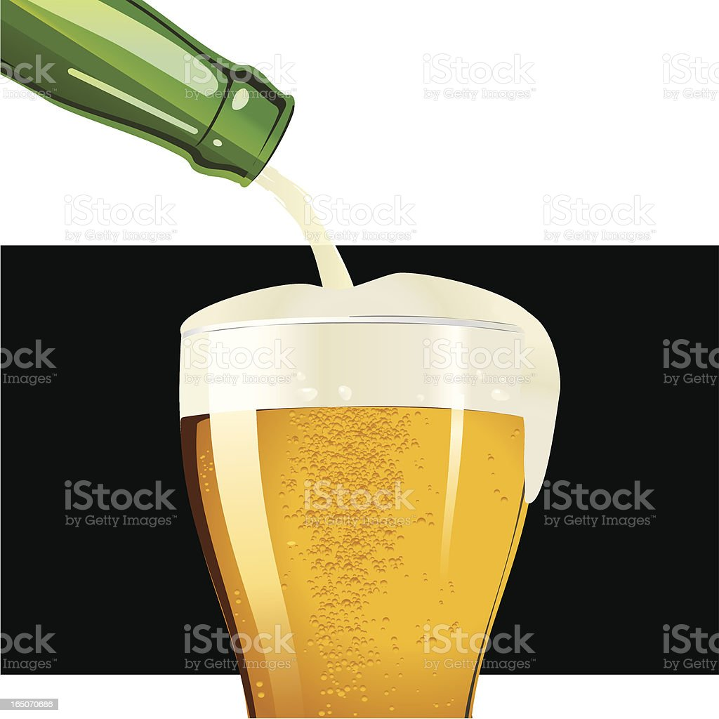 beer time royalty-free stock vector art