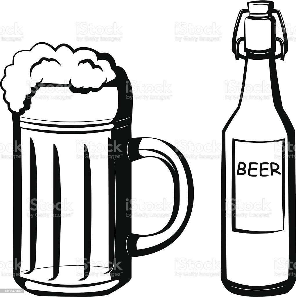 beer royalty-free stock vector art