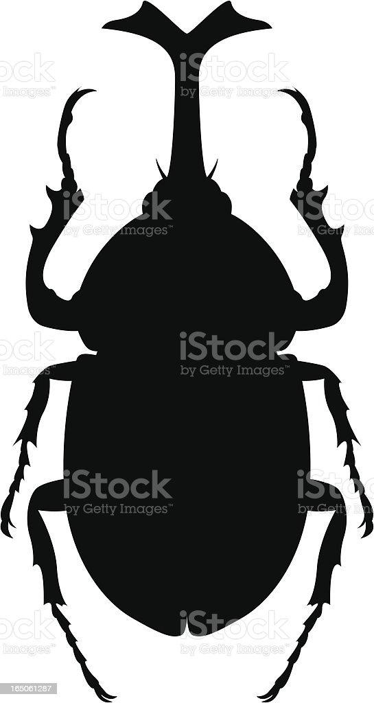 beetle royalty-free stock vector art