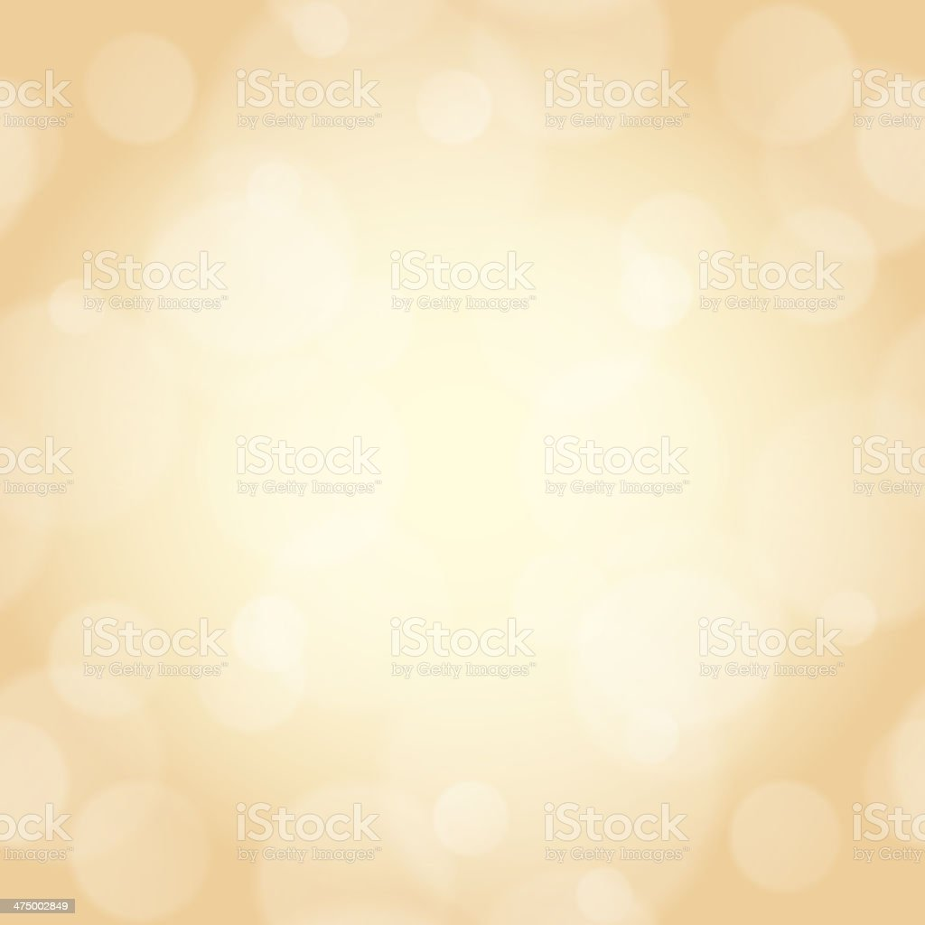 beige background with bokeh effect vector art illustration