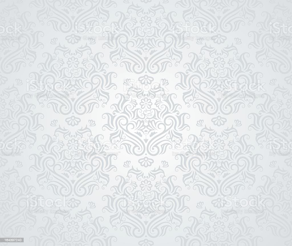 A beige colored seamless pattern with intricate designs vector art illustration