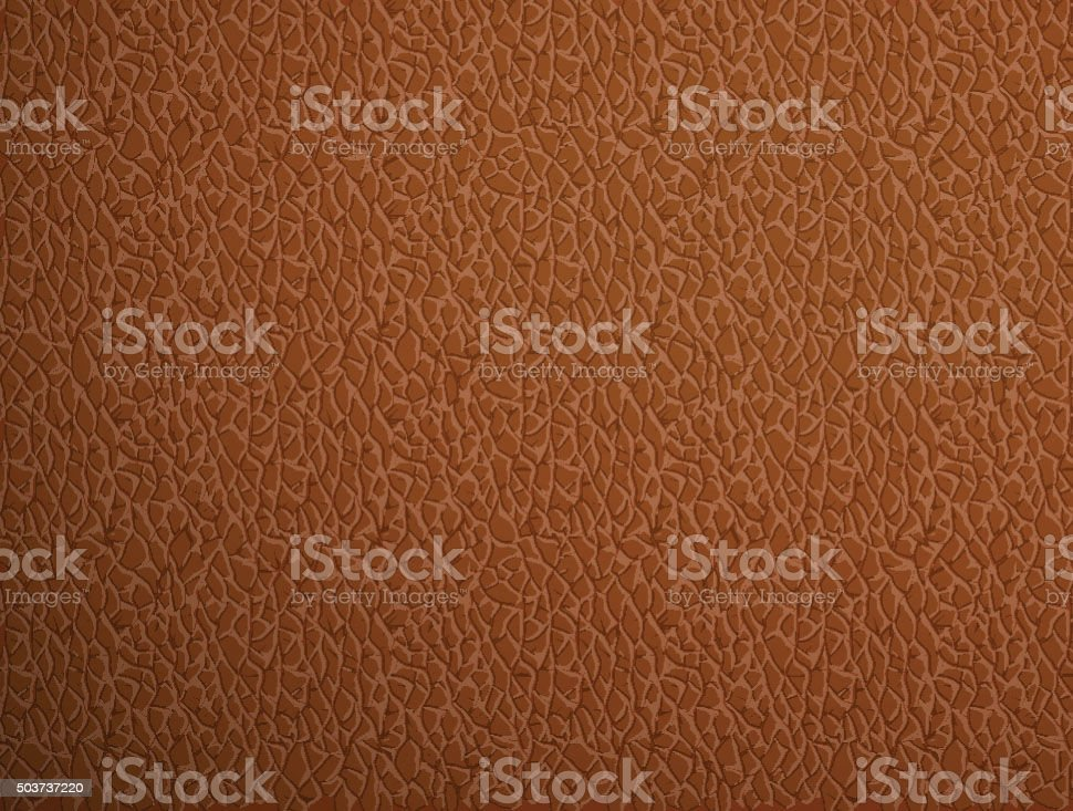 beige leather. Stock illustration. vector art illustration