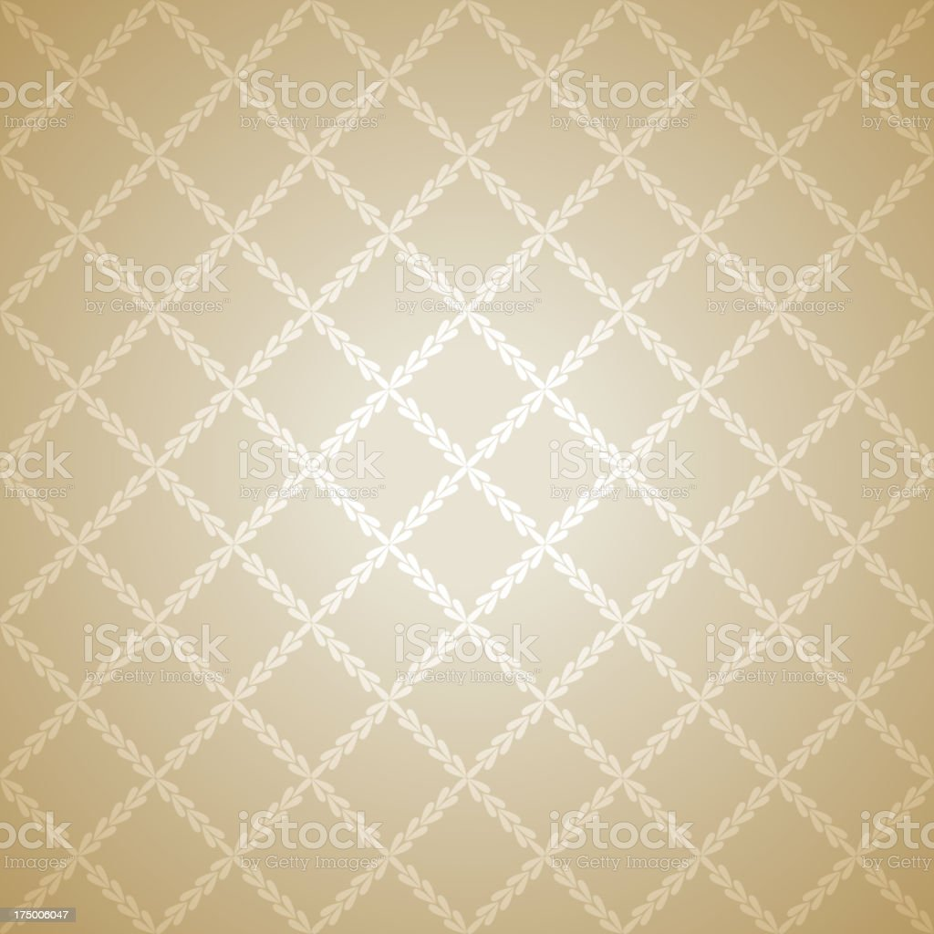Beige vector illustration on a cloth royalty-free stock vector art
