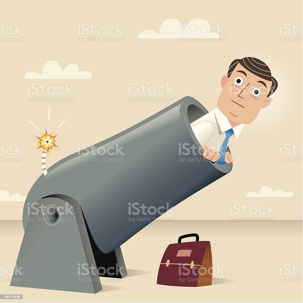 Being Fired! vector art illustration