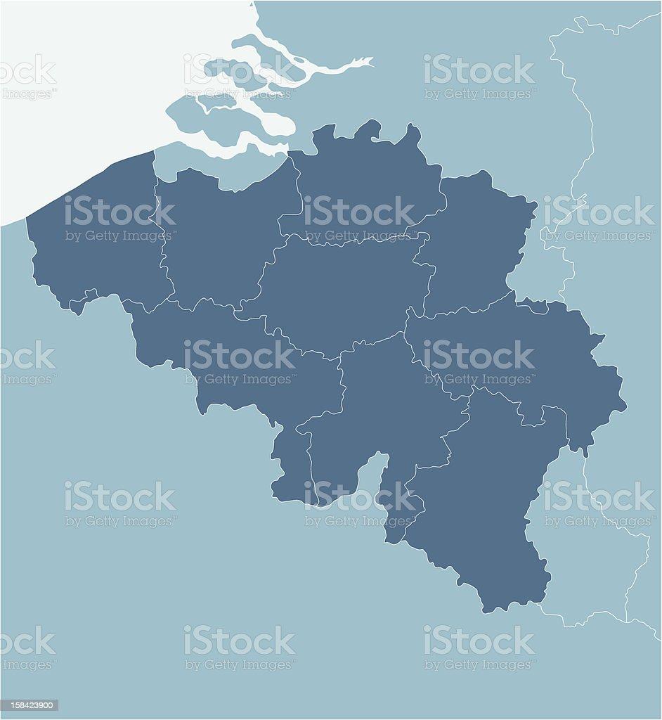 Belgium vector art illustration