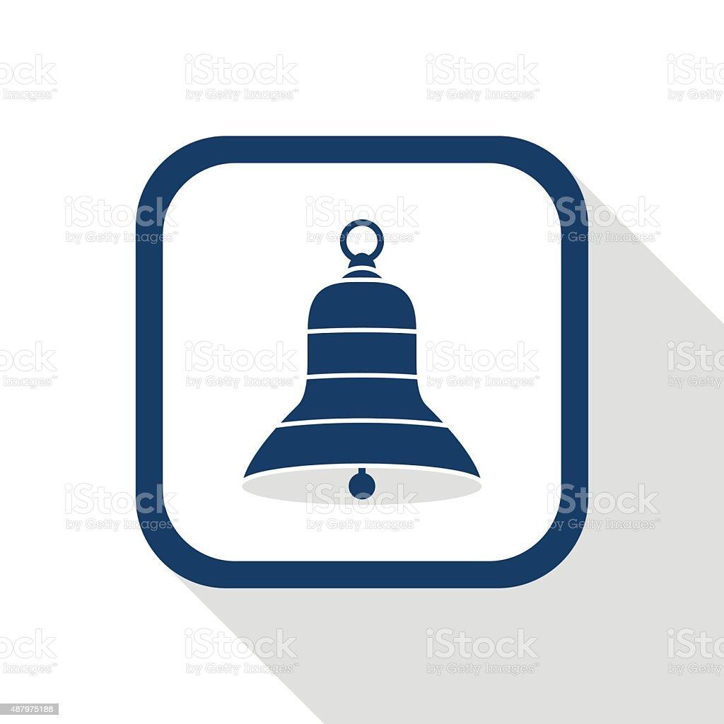 bell flat design icon vector art illustration