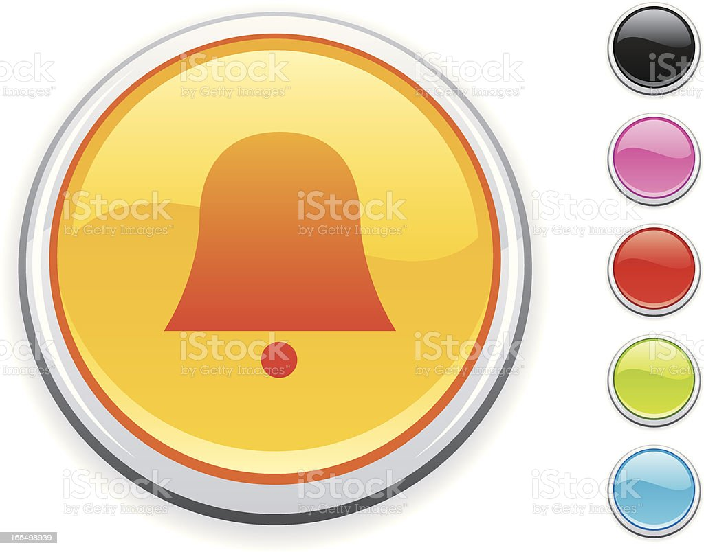 Bell icon royalty-free stock vector art