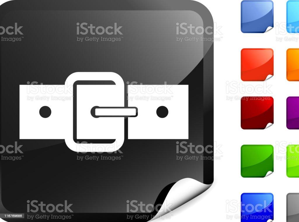 belt buckle internet royalty free vector art royalty-free stock vector art