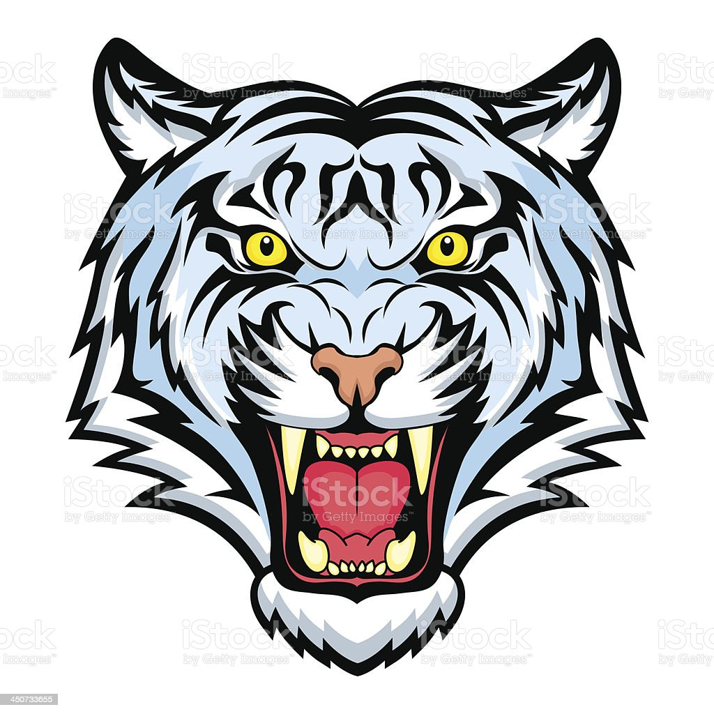 Bengal tiger royalty-free stock vector art