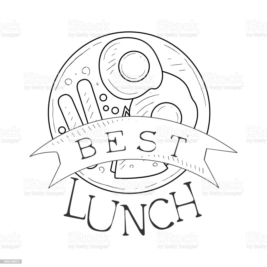 best cafe lunch menu promo sign in sketch style with english design vector id668236652 best cafe lunch menu promo sign in sketch style with sandwich and on sandwich label template