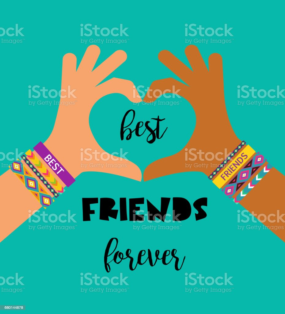 Poster design best -  Best Friends Forever Happy Friendship Day Poster Design Banner Greeting Card