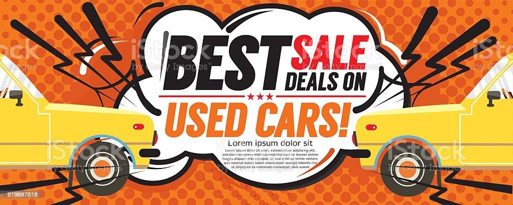 Best Sale Deal 6250x2500 pixel Banner. vector art illustration