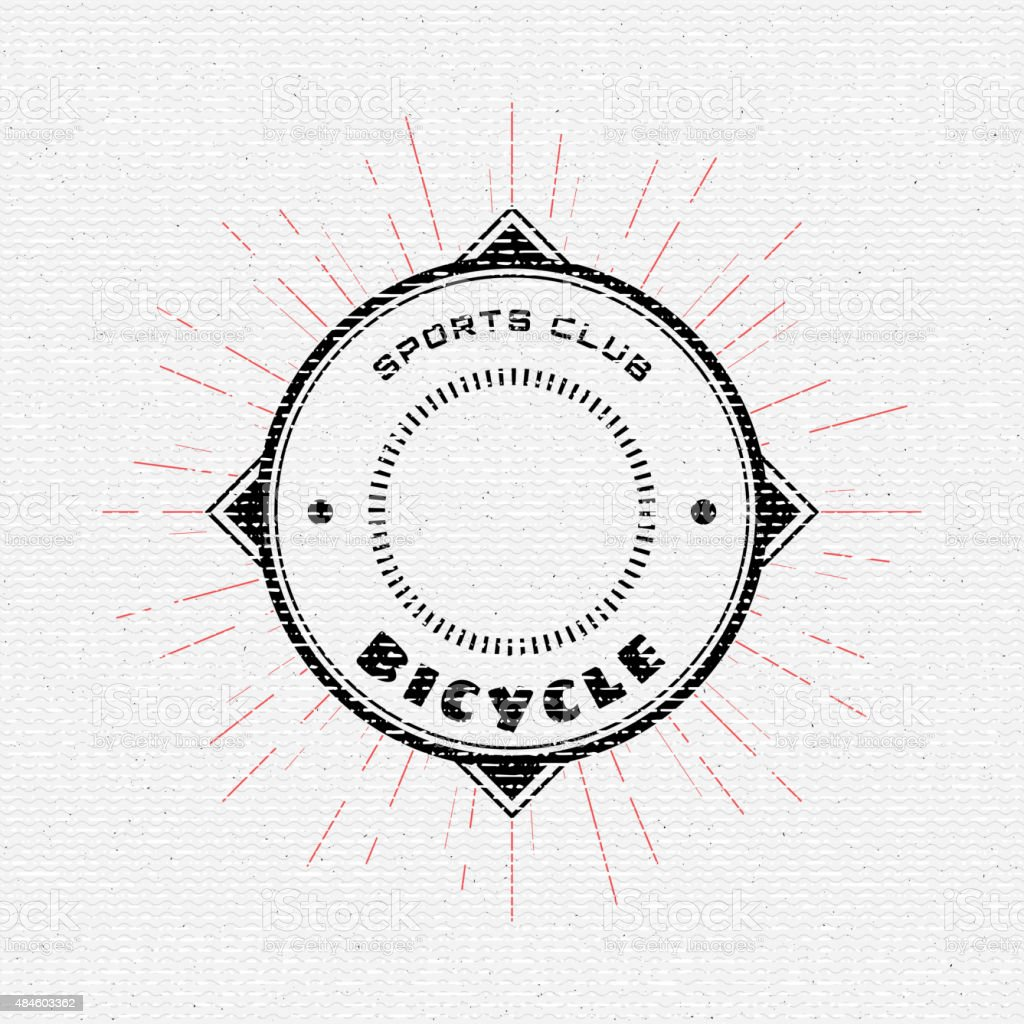 Bicycle badges logos and labels for any use vector art illustration