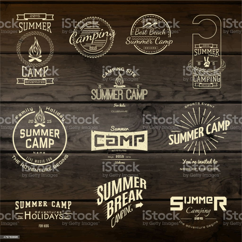 Bicycle set badges logos and labels for any use vector art illustration