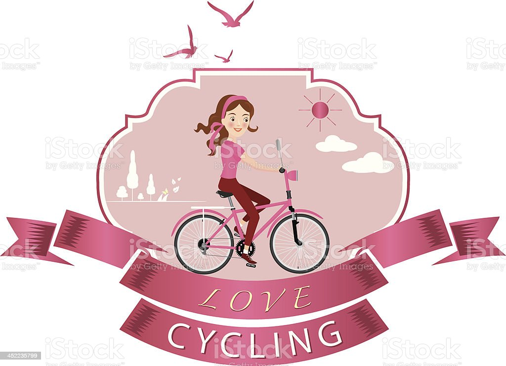bicycle tag vector royalty-free stock vector art