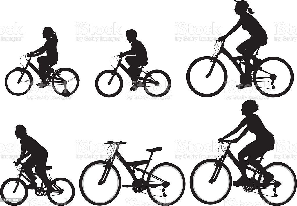 Bicycle royalty-free stock vector art